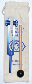 Third Eye Chakra (dark blue) tuning fork