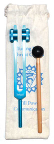 Throat Chakra (light blue) tuning fork