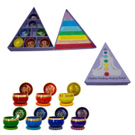 Mini Singing Bowl Set - Chakras Set