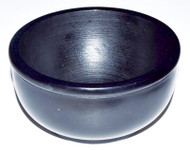 Black Stone Scrying Bowl 4""