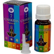 Green Tree Brand Fragrance Oil 10ml - 7 Chakras