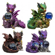 Small Cute Baby Dragon w/Sphere (Set of 4)