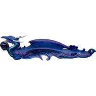 Incense Holder Purple Dragon w/Sphere