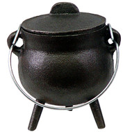 Cast Iron Cauldron Mini 2.75in Plain