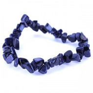 Stretch Chip Bracelet - Blue Goldstone
