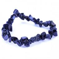 Stretch Chip Bracelet - Blue Goldstone