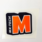 Orange Shock Sticker