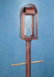 Paul Revere Crossbar Post Mount Lantern Large