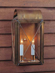Paul Revere Crossbar Wall Mount Lantern Medium