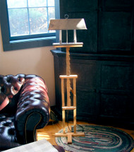 Colonial Adjustable Trammel Floor Lamp