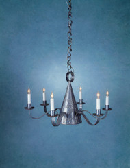 Witches Hat Chandelier - With Piercing