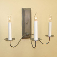 Coventry Federalist Sconce  - Three arm
