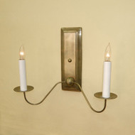 Coventry Federalist Sconce - Double Arm