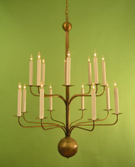 Somerset Modern Chandelier - Two Tier
