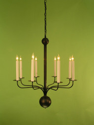 Somerset Modern Chandelier - One Tier