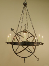 The Armillary Sphere Chandelier