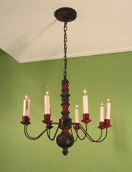Swedish Farm House Chandelier Single Tier