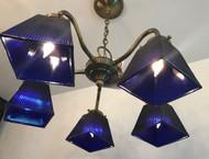Cobalt Blue Glass CH- SALE