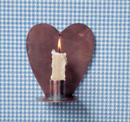Heart Candle Sconce