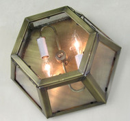 Pasadena Flush Mount Lantern - Small