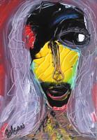 Black & Yellow Woman --