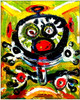 """Taino Inspiration, Digital retouched and mounted on hardboard , size 8"""" x 10""""."""
