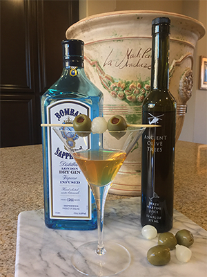 Ancient Olive Trees Dirt Martini Recipe | James Anthony Collection
