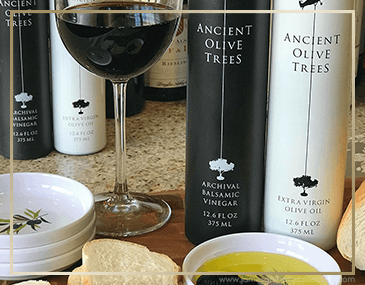 Ancient Olive Trees - Olive Oil, Balsamic Vinegar & Dirty Martini Juice | James Anthony Collection