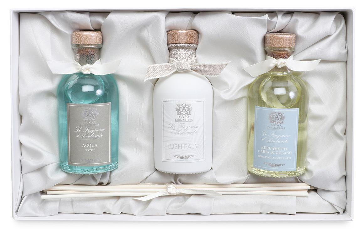 Antica Farmacista Acqua, Lush Palm, and Bergamot & Ocean Aria Trio | James Anthony Collection