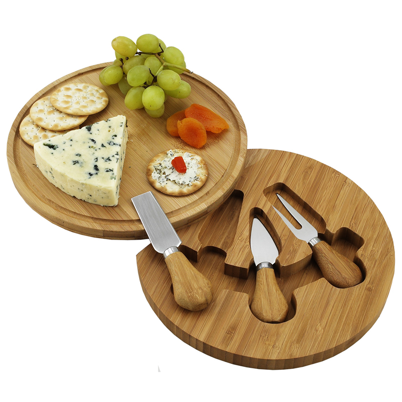 Feta Bamboo Cheese Board