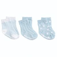 Elegant Baby Tonal Socks - 3pk Blue | James Anthony Collection