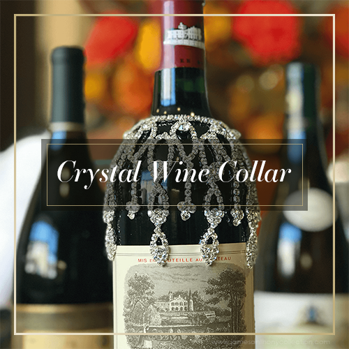 Crystal Wine Collar | Elegant, Sophisticated & Beautiful