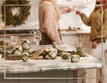 Thymes Frasier Fir Plaid Collection | James Anthony Collection