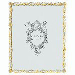 """Olivia Riegel Gold Asbury 5"""" x 7"""" Frame 