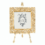 "Gold Windsor 4"" X 4"" Frame On Easel 