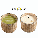 Hillhouse Naturals Cut Grass 3 Wick Candle James Anthony Collectio