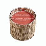 Hillhouse Naturals Grapefruit Persimmon 2 Wick Candle | James Anthony Collectio