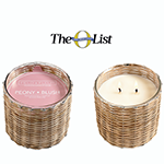 Hillhouse Naturals Peony Blush 2 Wick Candle | James Anthony Collectio