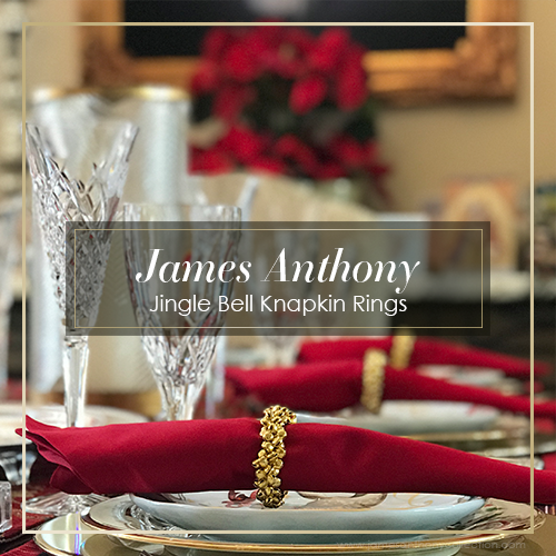 James Anthony Exclusive | Jingle Bell Knapkin Rings
