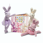Jellycat Books Dance Bunny Dance | James Anthony Collection