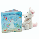 Jellycat Books Magical Unicorn Dreams | James Anthony Collection