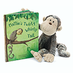 Jellycat Books Mattie's Twirly Whirly Tail | James Anthony Collection