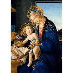 Madonna of The Book Christmas Card | James Anthony Collection