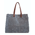 Makia Waxed Ash Canvas Carryall Tote | James Anthony Collection