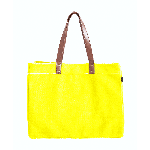 Maika Waxed Mustard Canvas Carryall Tote | James Anthony Collection