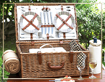 Picnic At Ascot Dorset Picnic Baskets | James Anthony Collection