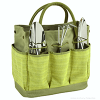 Picnic At Ascot Garden Tote & Tools Set - Hamptons | James Anthony Collection