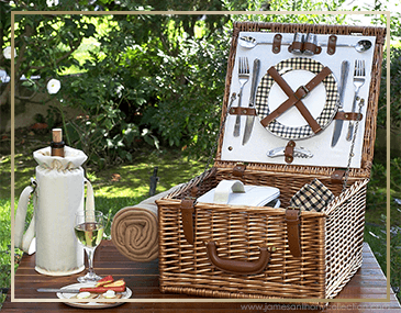 Picnic At Ascot Cheshire Picnic Baskets | James Anthony Collection