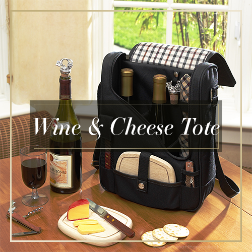 Wine & Cheese Totes | James Anthony Collection