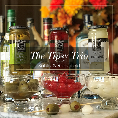 Sable & Rosenfeld Tipsy Trio | The 3 Best Friends Your Bar Can Have